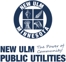 New Ulm Public Utilities The Power of Community logo