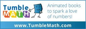 Tumble Math, Animated books to spark a love of numbers